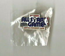 Original 1987 NBA All Star Game Seattle Lapel Pin NOS NEW in Package SuperSonics