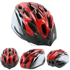 Outdoor Red Mens Adult Street Bike Bicycle Road Cycling Safety Helmet NEW