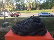 "100% Authentic Adidas Yeezy 500 ""Utility Black"" Size 8 F36640 Desert Rat"