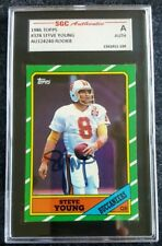 1986 Topps Steve Young Tampa Bay Buccaneers #374 Football Card