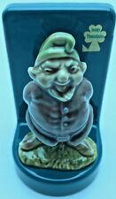 Vintage WADE Ceramic Irish Pottery Elves Garden Gnome Leprechaun RNC0191