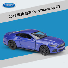 Welly 1 36 2015 Ford Mustang GT Metal Diecast Model Car Pull Back Red or Blue