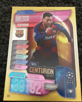 2019/20 Match Attax UEFA Soccer Card - Lionel Messi Centurion #305 Barcelona