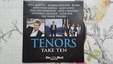 CD - Tenors - Take Ten - 10 Tracks - Watson,Domingo,Boe,3 Tenors,Carreras
