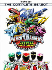 POWER RANGERS DINO SUPER CHARGE: COMPLETE SEASON - DVD - Region 1