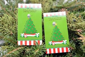 Christmas Tree - Christmas Scratch Off Game Pack - Corporate Party Scratch Game