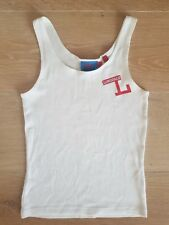 Lonsdale London Women's White Singlet Size 8