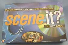 Scene It? The DVD Game Board Game Movie Trivia New Sealed
