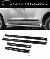 Door Side Sill Moulding Trims Plate Fits for Land Cruiser LC200 J200 2008-2021