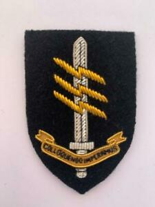Special Forces Communicator Wire Embroided Beret Badge - 18 UKSF - SAS - SBS