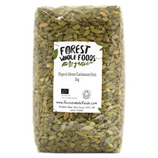 Organic Whole Green Cardamom Pods (Free UK Delivery) 1kg