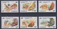 CAMBODIA 1995 Dinosaurs MINT set sg1426-1431 MNH