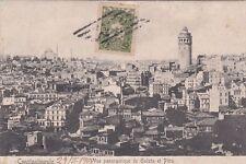 * TURKEY - Constantinople - Vue panoramique de Galata et Péra 1908