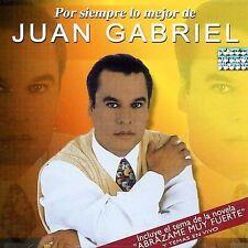 JUAN GABRIEL - POR SIEMPRE LO MEJOR DE (NEW CD)