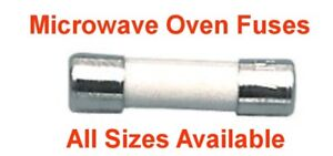 Ceramic Microwave Oven Fuses All Sizes and Types Pack 3