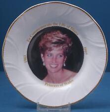 Princess Diana Commemoration Plate