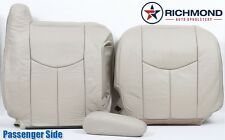 2005 2006 Chevy Tahoe LT LS Z71 -Passenger Side Complete Leather Seat Covers TAN