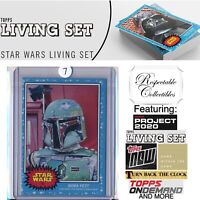 2020 Topps Star Wars Living Set - Card #83 Boba Fett - Empire Strikes Back