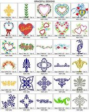 5,800+ DECOR BROTHER EMBROIDERY MACHINE DESIGNS COLLECTION ON CD DECOR PES FILES
