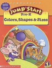 Jumpstart: Colors, Shapes and Sizes by Michelle Warrence (2000, Paperback, Workb