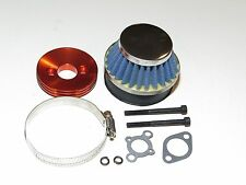 YY-MADMAX HPI KM ROVAN BAJA 1/5 5B 5IVE AIR FILTER W/ ALUMINUM MOUNT KIT CHROME