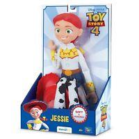 "Disney Pixar Toy Story 4 Jessie Soft & Huggable 14"" Walmart Exclusive Doll NEW"
