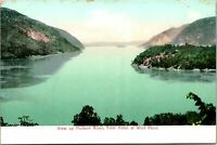 View up Hudson River NY from Hotel at West Point Postcard unused 1900s/10s