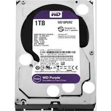 HARD DISK INTERNO 3,5 1TB 1000GB WESTERN DIGITAL WD10PURZ PURPLE 64MB 5400RPM