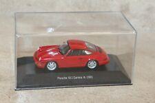porsche 911 carrera 4 - 1991.  1:43ème  (atlas)