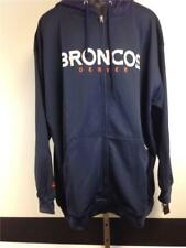 New Denver Broncos Adult Mens Size 3XL Full Zip Jacket-Hoodie MSRP $60