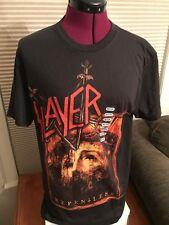 Slayer Repentless Black 100 Cotton Heavy Metal Band T-shirt Sz Medium