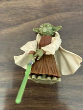 Star Wars Revenge of the Sith Spinning Attack Jedi Master Yoda #26