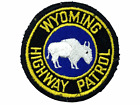 US Wyoming Highway Patrol Police Patch