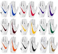 Nike Men's Vapor Jet 5.0 Football Gloves - White Pack - FREE SHIPPING