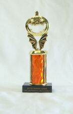 """HALLOWEEN TROPHY, PUMPKIN CARVING   COSTUME PARTY   PUMPKIN 3"""" OR FREE LETTERING"""