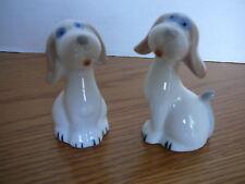 "Salt & Pepper Set Vintage Puppies  3"" X 2"" NIB"