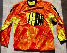 New Thor Motocross Flux Jersey - Orange Yellow - Adult Small - #2910-2801
