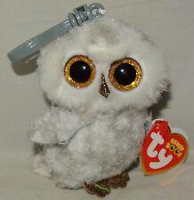 Ty Beanie Boos Owlette the Owl Key Clip Size nwt's