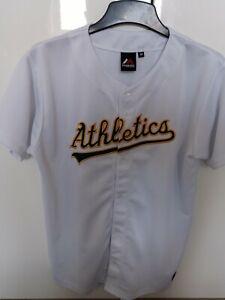 Oakland Athletics MLB Majestic Jersey Size Medium