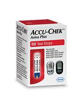 50 AccuChek Aviva Plus Test Strips Box Exp 3/31/2021 Accu Chek retail