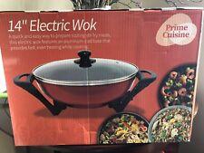 New listing 14� Prime Cuisine Electric Wok