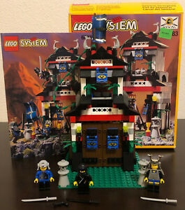 LEGO Ninja 6083 Samurai Stronghold - Complete w/Box & Instructions