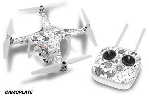 DJI Phantom 3 Drone Wrap RC Quadcopter Decal Sticker Custom Skin Accessory CP W