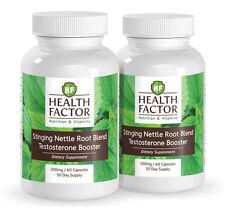 Health Factor Stinging Nettle Root Blend, Testosterone Booster (2 Bottles)