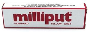 Milliput Standard Yellow-Grey (4 oz) Pack Two Part Epoxy Putty Modeling Supplies