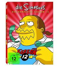 Die Simpsons - Season/Staffel 12 * NEU OVP * 4 DVDs * Collector's Edition