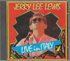 JERRY LEE LEWIS LIVE IN ITALY - CD