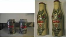 NEW Coca Cola light diet can and bottle Jean Paul Gaultier coke special edition