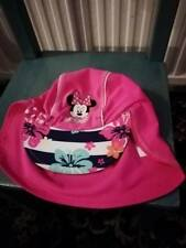 summer hat with peak and covers neack 2-4 years girls
