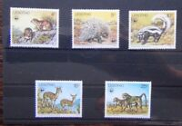 Lesotho 1977 Animals set MNH